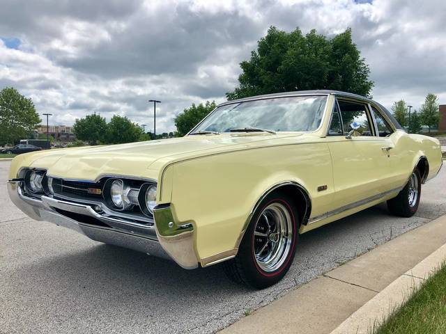 1967 Oldsmobile 442 Frame off Restored