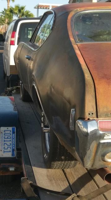 1968 Oldsmobile 442 4speed