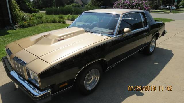 1978 Olds Cutlass Supreme Brougham
