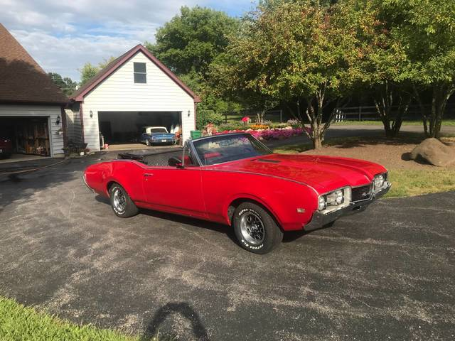 1968 Oldsmobile Cutlass 442 Convertible