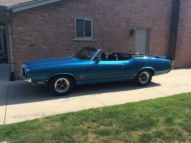 1972 Olds 442 Convertible