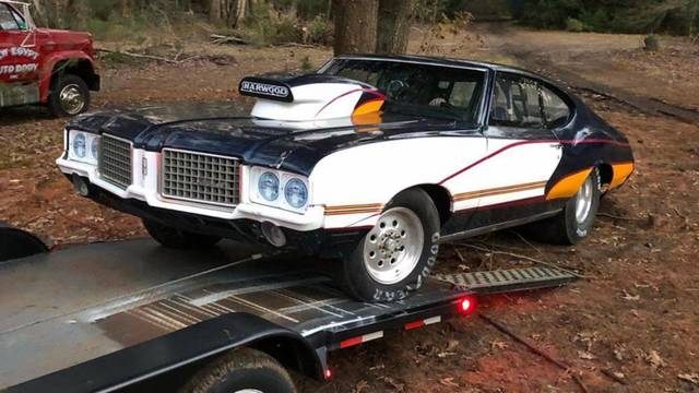 1972 Cutlass 8.50 drag car roller