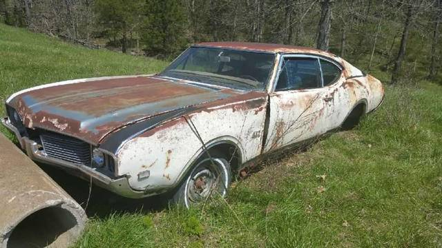 1969 olds 442 Porject