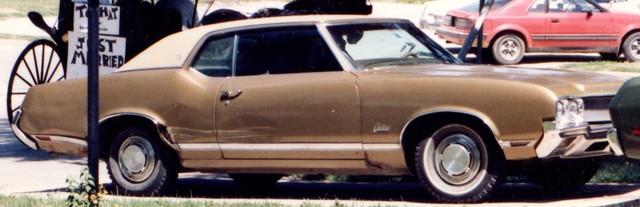 1970 Cutlass Supreme - project