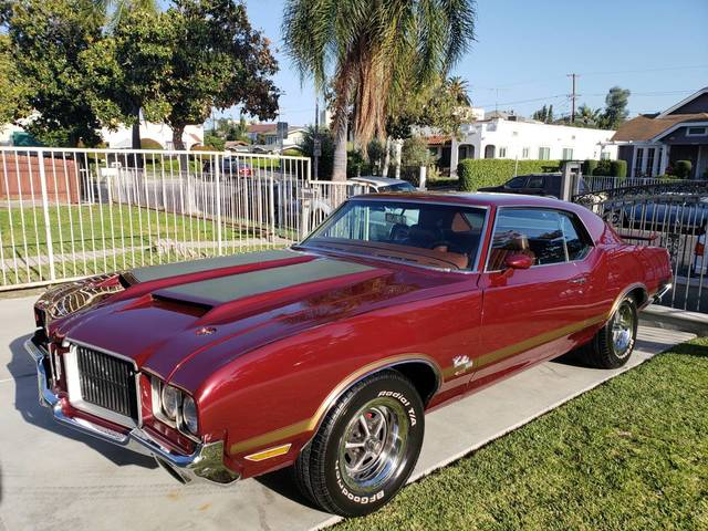 1971 Oldsmobile Cutlass SX