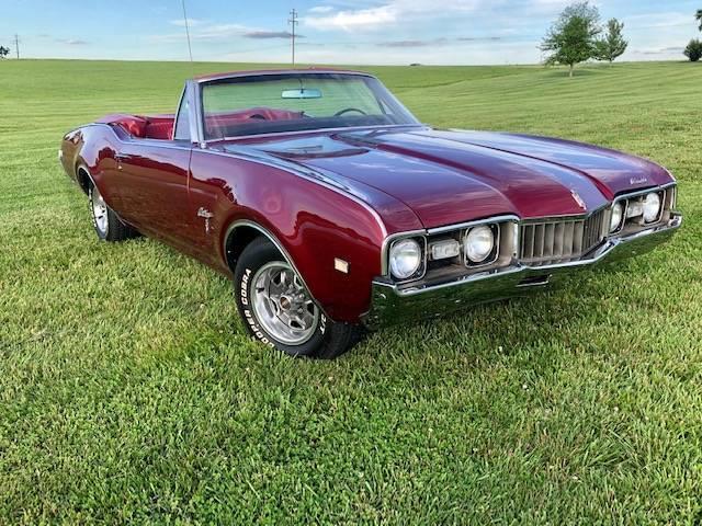 1968 Olds Cutlass S Convertible