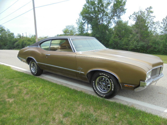 1970 Cutlass S factory 4spd