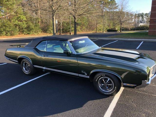 1971 Oldsmobile Cutlass SX Convertible