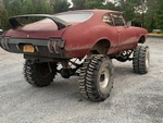 Lifted Oldsmobile Cutlass