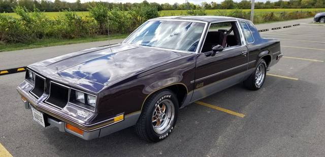 1986 Olds Cutlass 442 All Origional