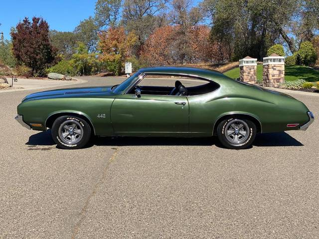 1972 Olds 442 Numbers Matching 455/4spd
