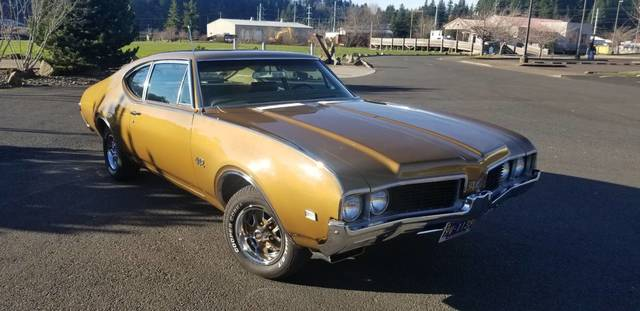 1969 Olds 442 Sports Coupe