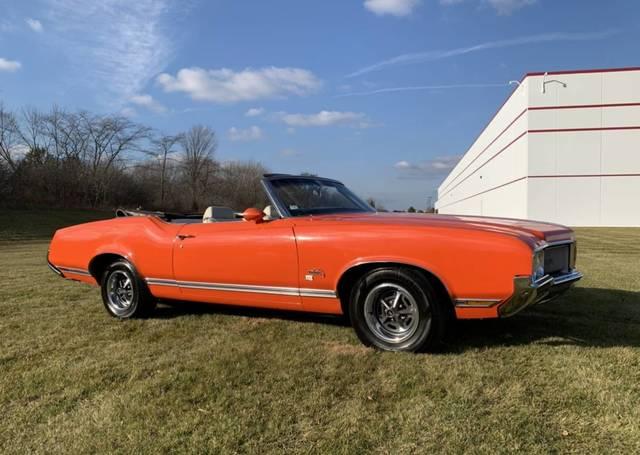 1970 Olds Cutlass Convertible SX