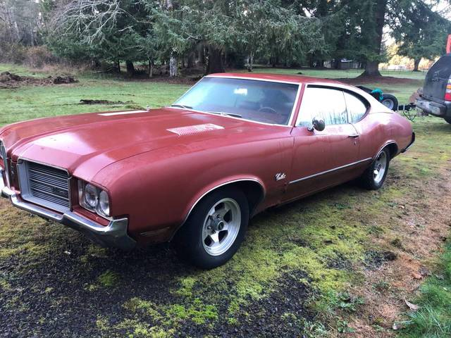 1971 Oldsmobile Cutlass Project