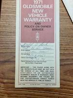 1971 Oldsmobile Cutlass SX