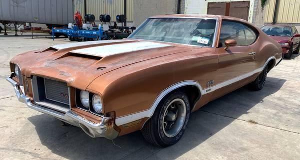 1972 442 W30 4speed # matching