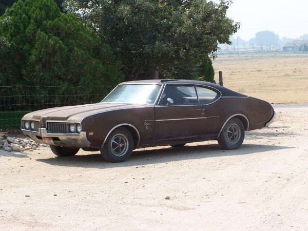 1969 Cutlass 2 door-runs