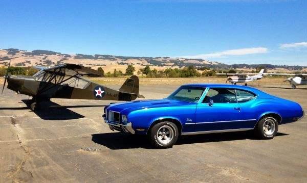1971 Cutlass S The Dream Machine