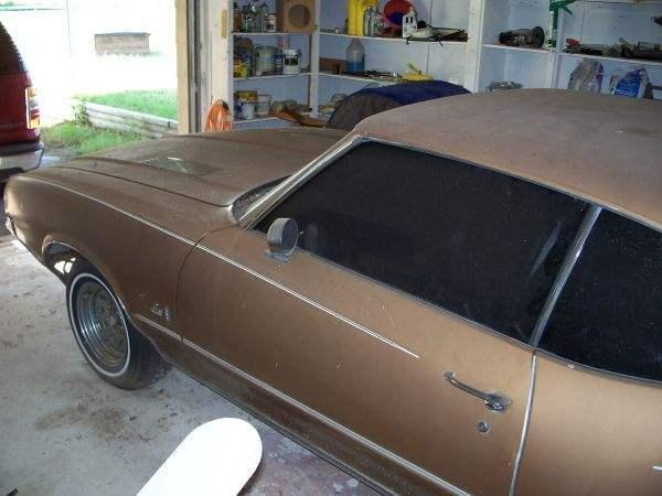 1972 Cutlass Project