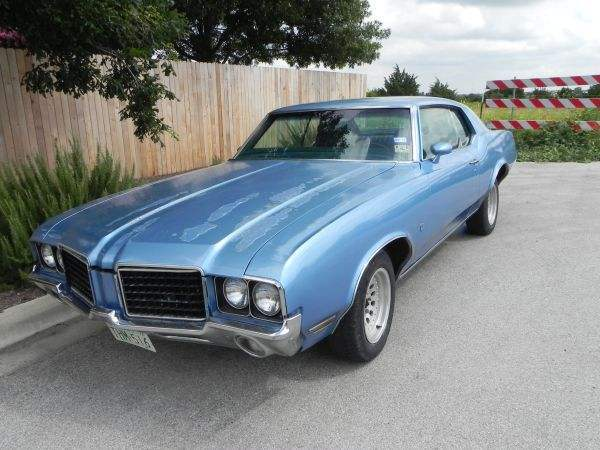 1972 Cutlass Supreme 455ci