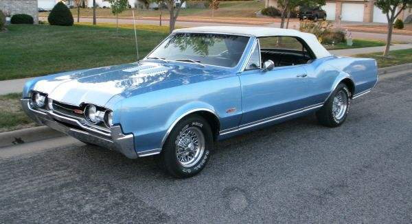 1967 Olds 442 Convertible