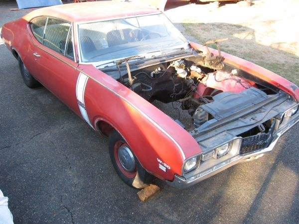 1968 Olds 442 W30 4 Speed Project