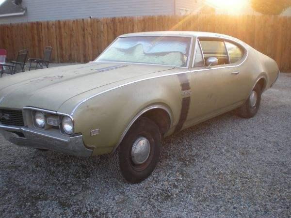 1968 Oldsmobile 442 4-Speed