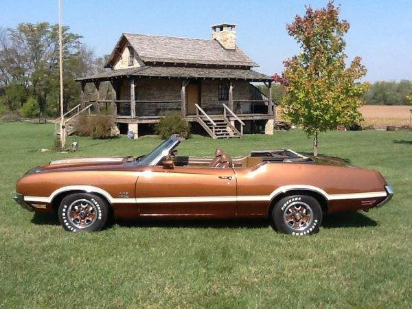 1972 Olds Real 442 Convertible