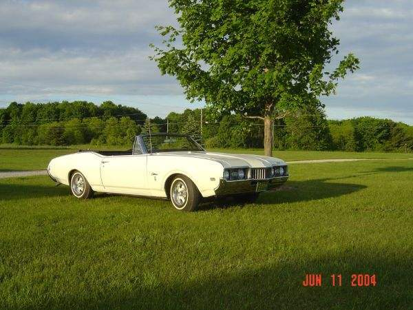 1968 Olds Cutlass S Convertible