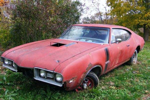 1968 Olds 442 Holiday Coupe