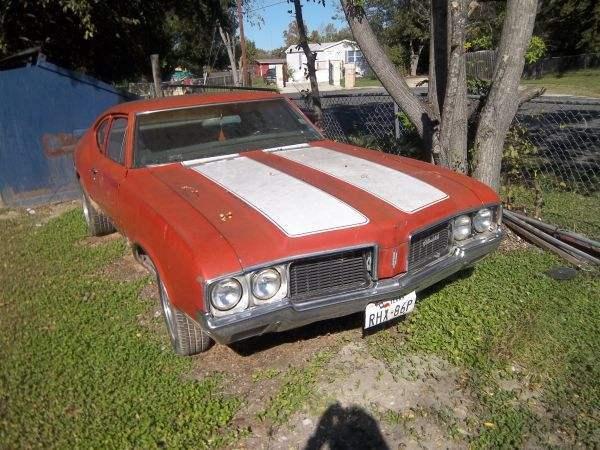 Classic 1970 Cutlass