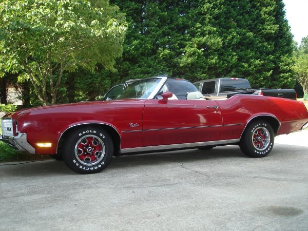 1972 Olds Cutlass Surpreme Convertible