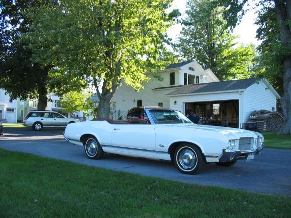 1971 Olds Cutlass Convertible