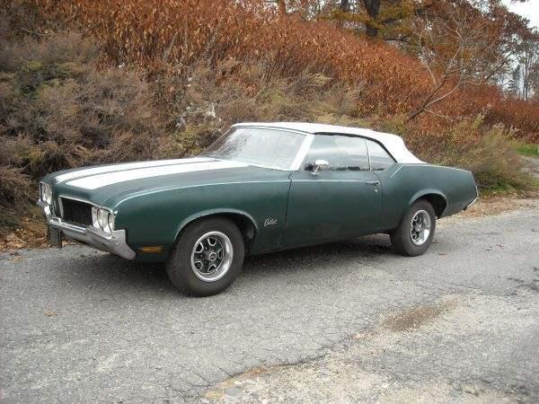 1970 Cutlass Convertible