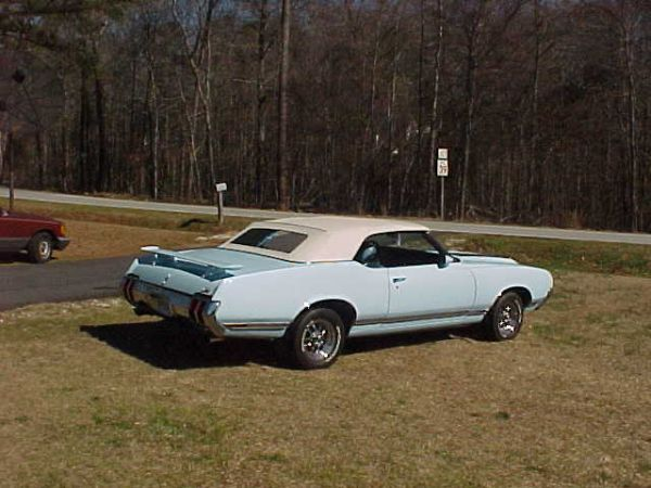 1970 Cutlass SX Convertible