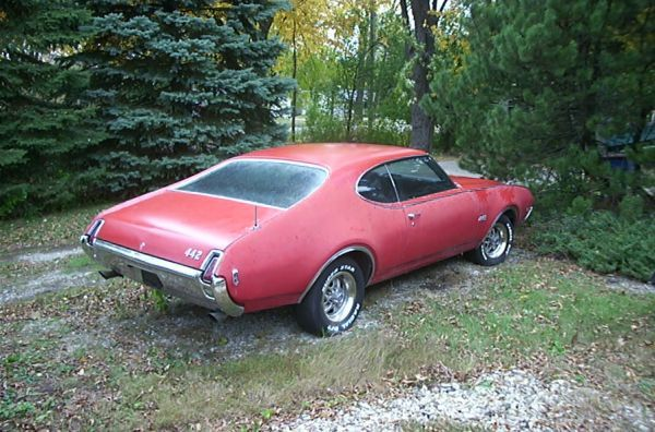 1969 Muscle Car Olds 442