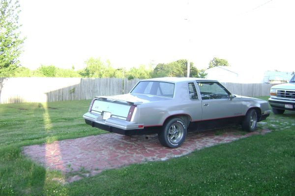 1984 Cutlass Hurst Olds with T-Top