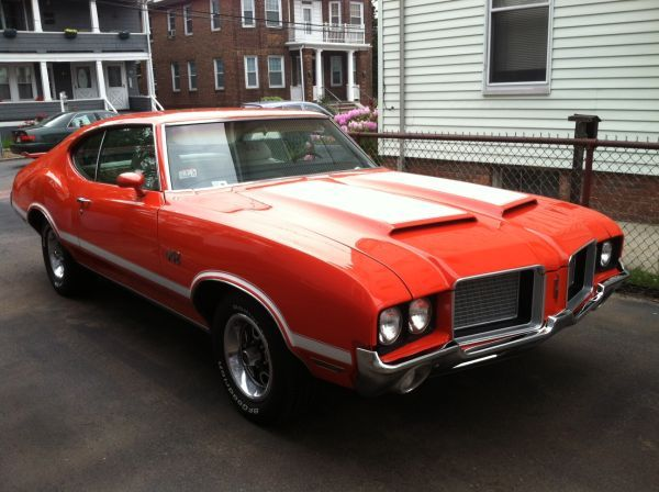 1972 Olds 442 4 Speed